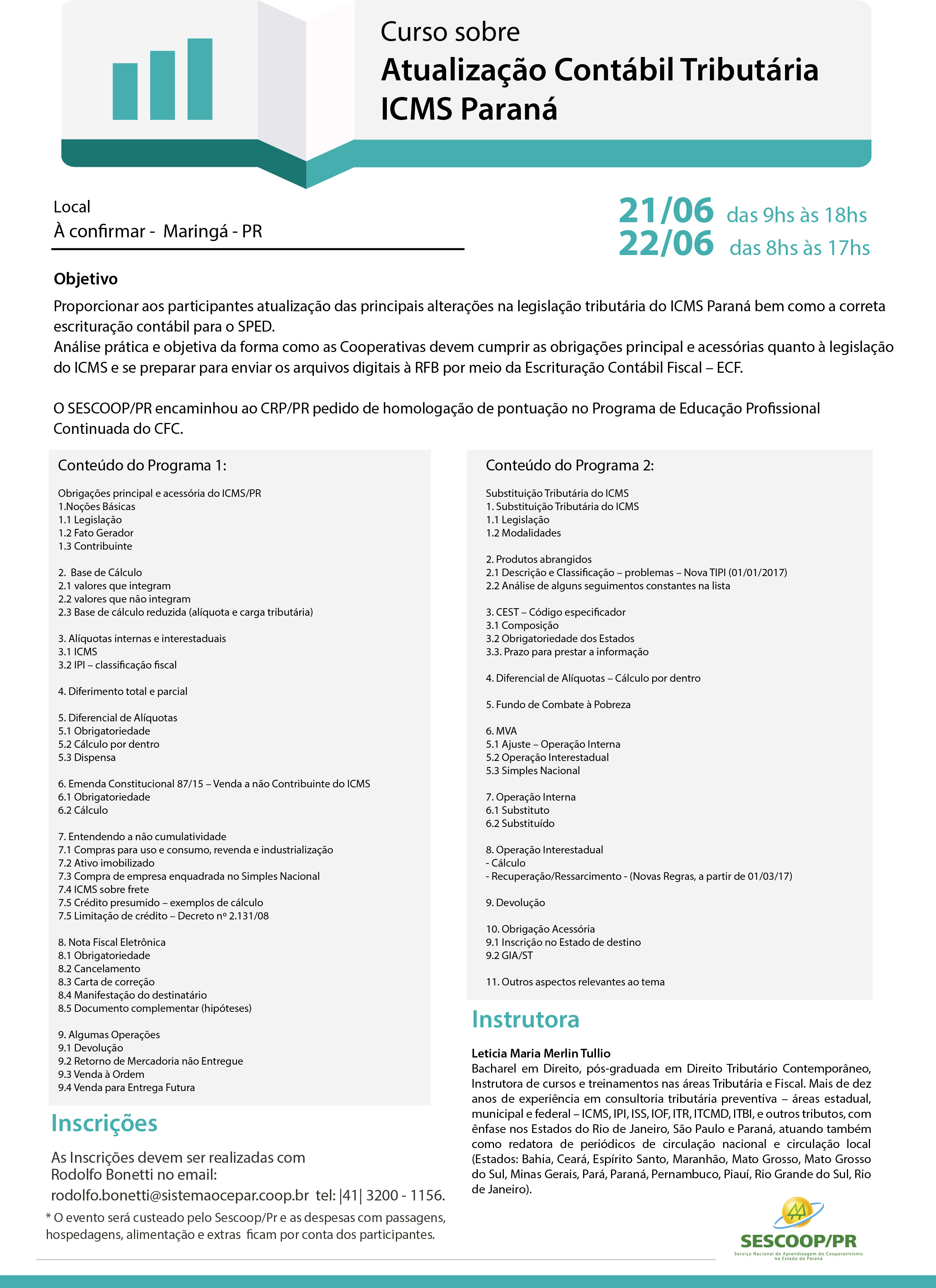 5e129ac945eb3 FORMAÇÃO  Profissionais das cooperativas discutem mudanças na legislação  estadual do ICMS
