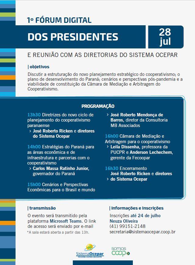 forum presidente 27 07 2020