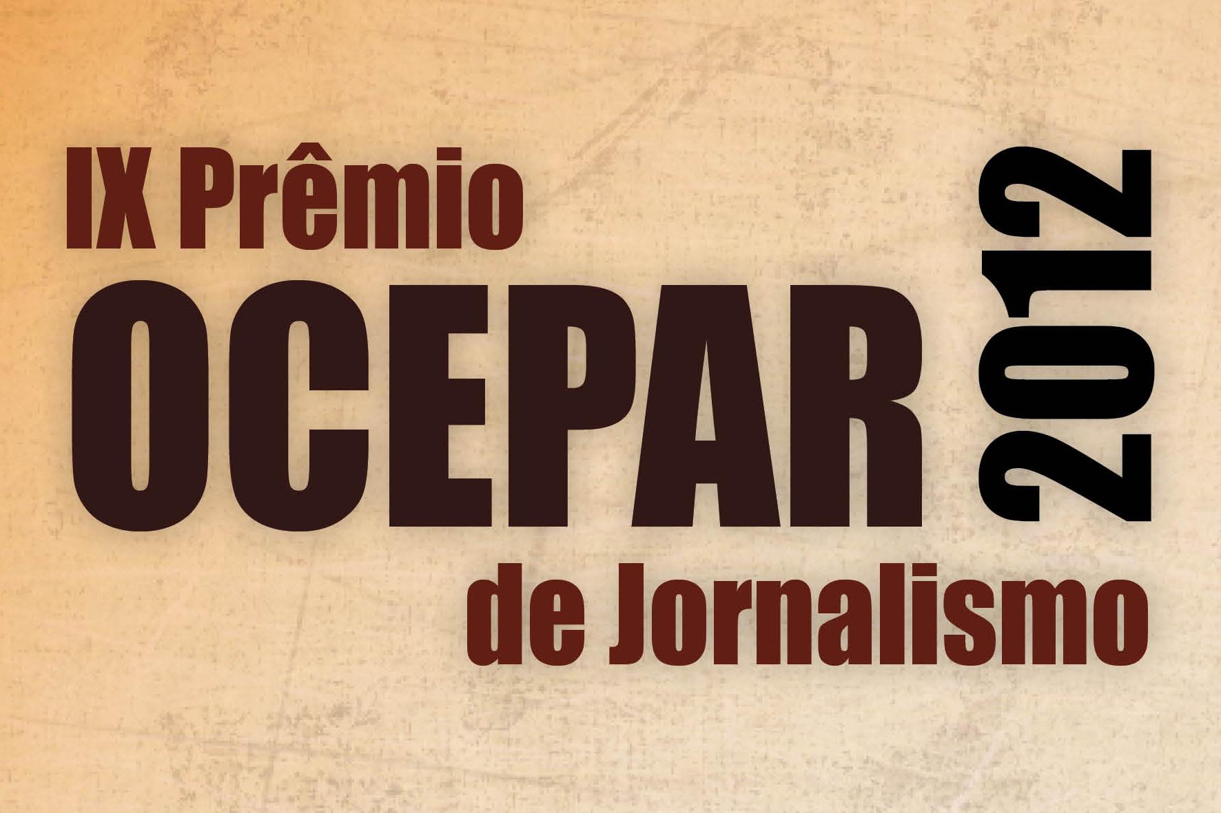 Informe Premio Destaque 2012