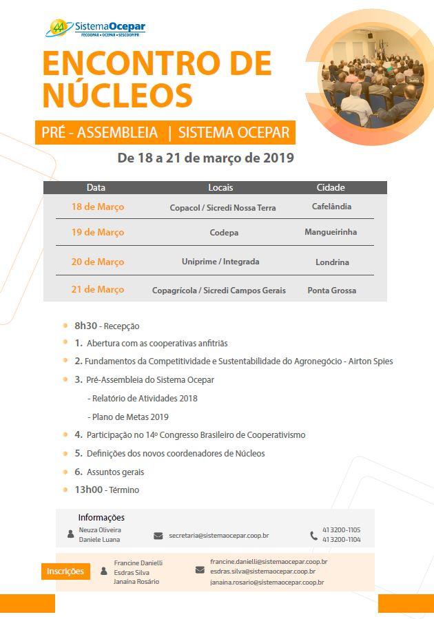 bd3837ba6ccb ENCONTROS DE NÚCLEOS: Evento terá debate sobre novo cenário econômico e  político no Brasil