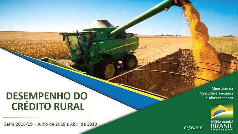 credito rural 08 05 2019