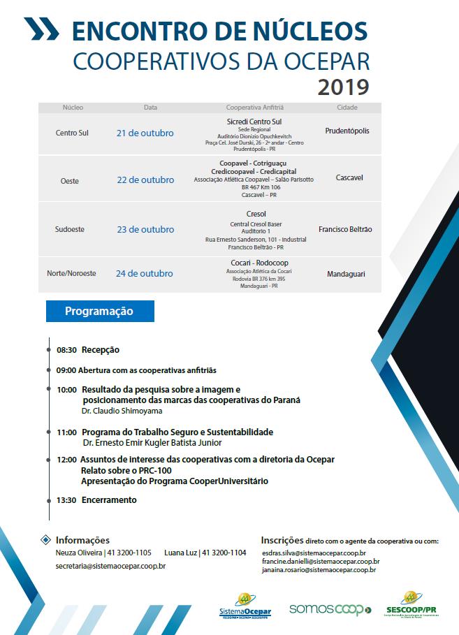 encontros nucleos folder 25 09 2019